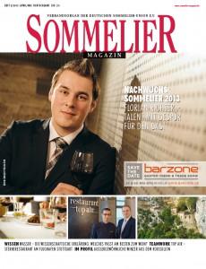 Parution dans l'édition avril/mai 2013 de Sommelier Magazin