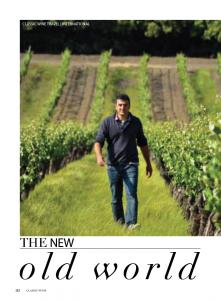 Parution dans Wine Classique magazine